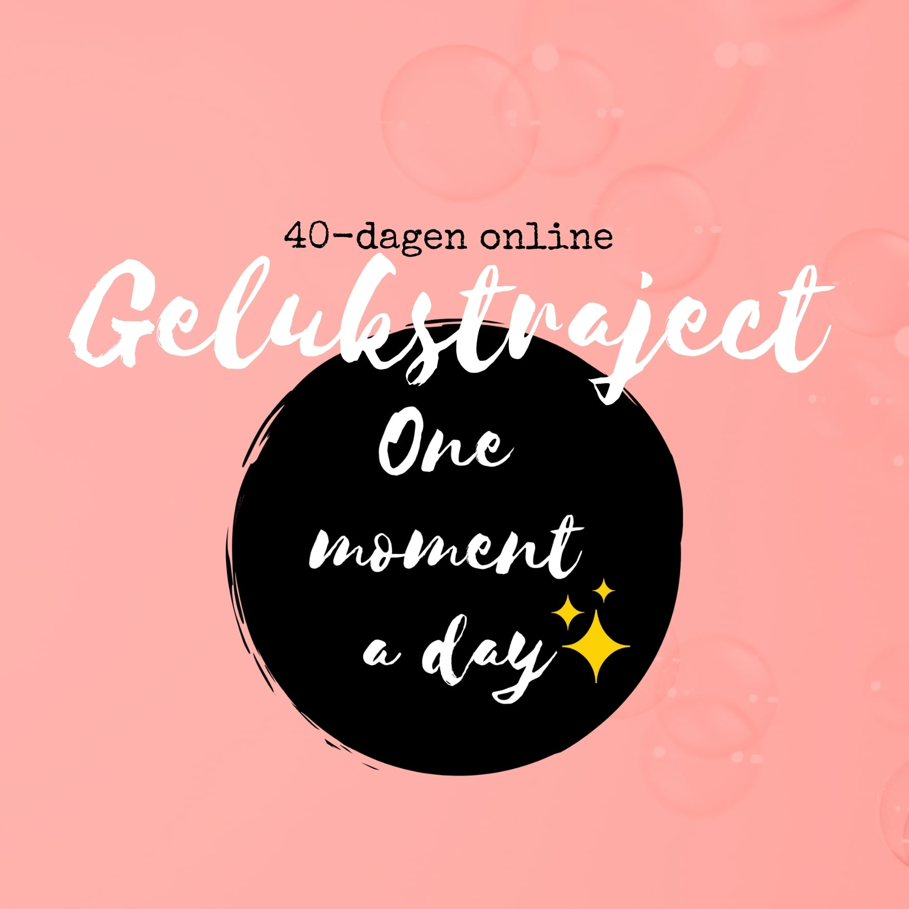 One moment a day | Gelukstraject